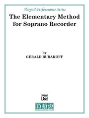 The Elementary Method for Soprano Recorder