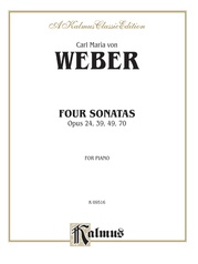 Four Piano Sonatas, Opus 24, 39, 49, 70