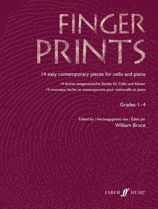 Fingerprints for Cello and Piano, Grade 1-4