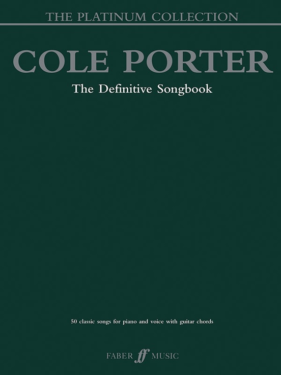 Cole Porter The Platinum Collection Pianovocalchords Book Cole