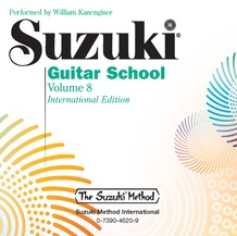 Suzuki Guitar School CD, Volume 8