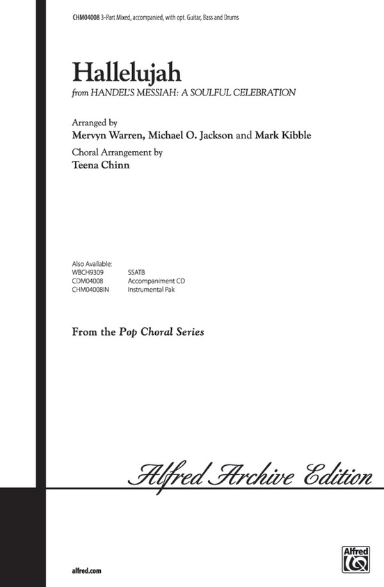 Hallelujah from Handel\'s Messiah: A Soulful Celebration: 3-Part ...