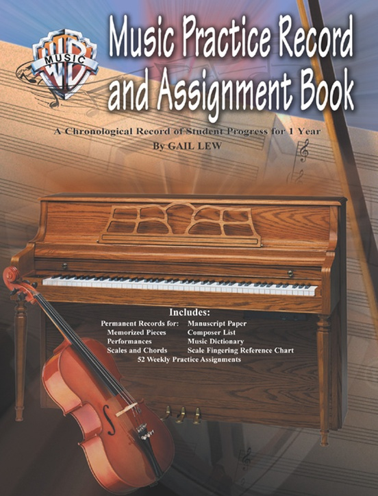 Music Practice Record and Assignment Book
