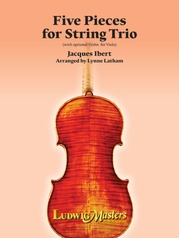Five Pieces for String Trio