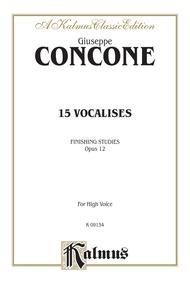 Fifteen Vocalises, Opus 12 (Finishing Studies)