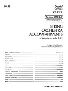 String Orchestra Accompaniments to Solos from Volumes 1 & 2