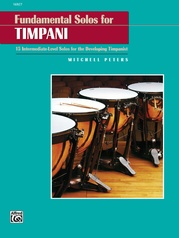Fundamental Solos for Timpani