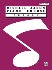 Michael Aaron Piano Course: Theory, Grade 4
