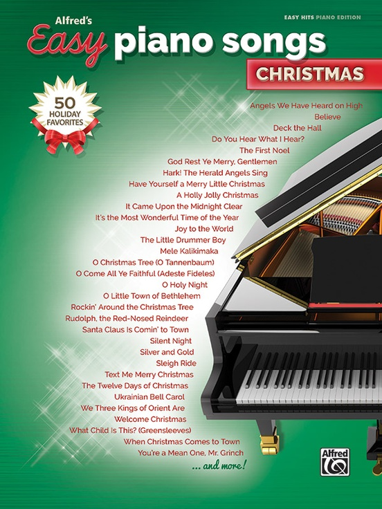 Alfred's Easy Piano Songs: Christmas