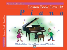 Alfred's Basic Piano Library: Lesson Book 1A