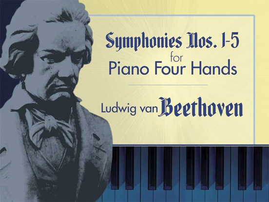 Symphonies 1-5 for Piano Four Hands