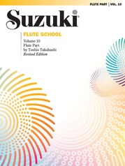 Suzuki Flute School Flute Part, Volume 10 (Revised)