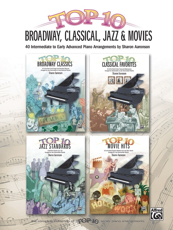 Top 10 broadway classical jazz movies piano book top 10 broadway classical jazz movies fandeluxe Images