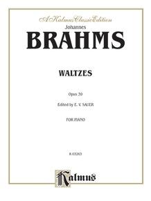 Waltzes, Opus 39