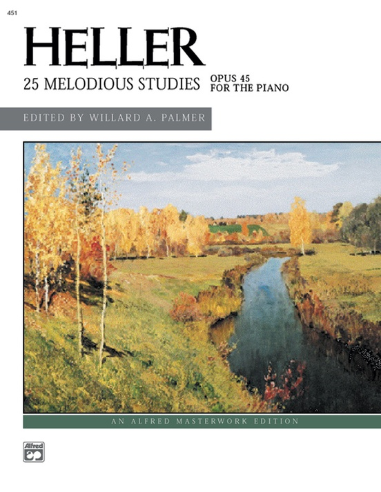Melodious Studies (Complete): For Intermediate to Late Intermediate Piano (Alfred Masterwork Edition)