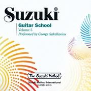 Suzuki Guitar School CD, Volume 5