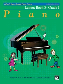 Alfred's Basic Graded Piano Course, Lesson Book 3