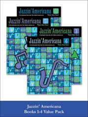 Jazzin' Americana Books 1-4 (Value Pack)