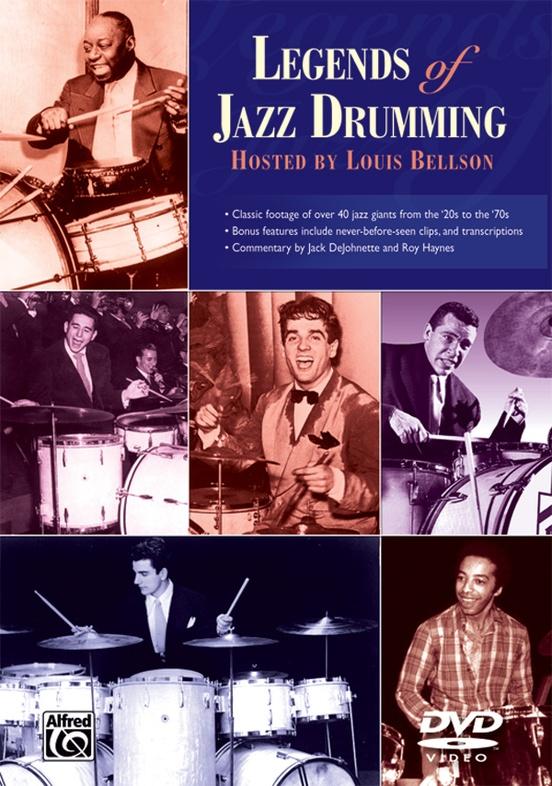Legends of Jazz Drumming, Complete