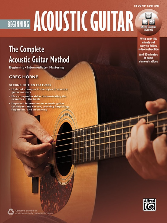 The Complete Acoustic Guitar Method: Beginning Acoustic Guitar (2nd Edition)