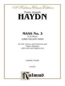 Mass No. 3 in D Minor (Lord Nelson or Imperial Mass)