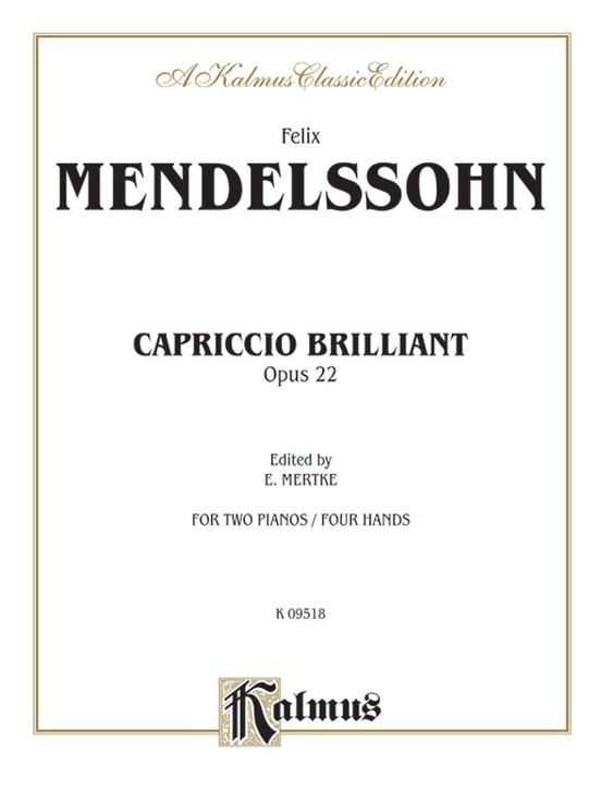 Capriccio Brillante, Opus 22