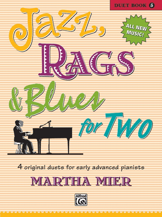 Jazz, Rags & Blues for Two, Book 5