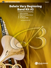 Belwin Very Beginning Band Kit #3