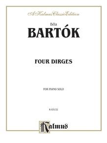 Four Dirges, Opus 8