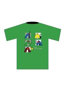 Taste Woodwinds! T-Shirt: Green (Medium)