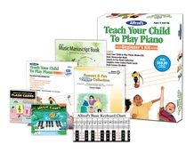 Alfred's Teach Your Child to Play Piano: Beginner's Kit