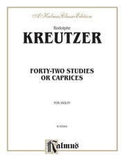 Forty-two Studies or Caprices