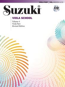 Suzuki Viola School Viola Part & CD, Volume 4 (Revised)