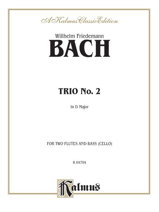 Trio No. 2 in D Major
