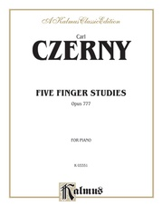 Five Finger Studies, Opus 777