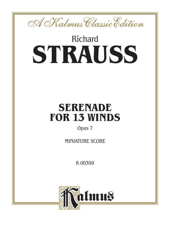 Serenade for 13 Winds, Opus 7