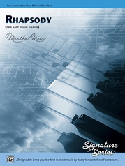 Rhapsody (for left hand alone)