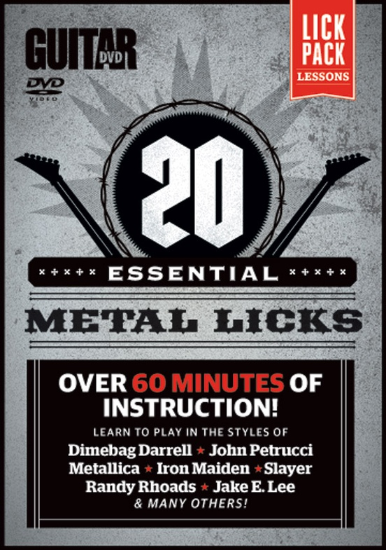 Guitar World: 20 Essential Metal Licks