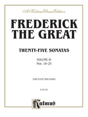 Twenty-five Sonatas, Volume IV (Nos. 19-25)