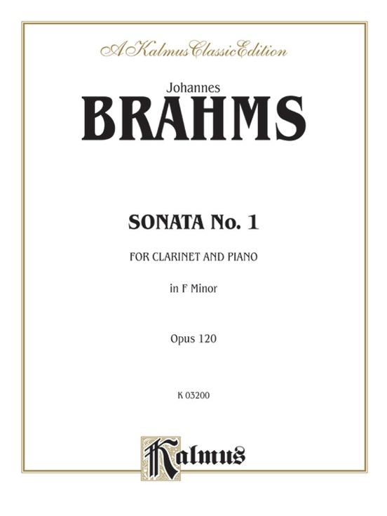 Sonata No. 1 in F Minor, Opus 120