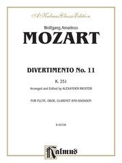 Divertimento No. 11, K. 251