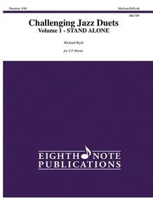 Challenging Jazz Duets, Volume 1 (stand alone version)