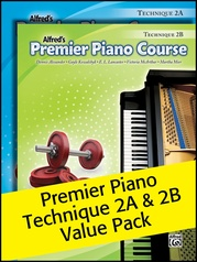 Premier Piano Course, Technique 2A & 2B (Value Pack)