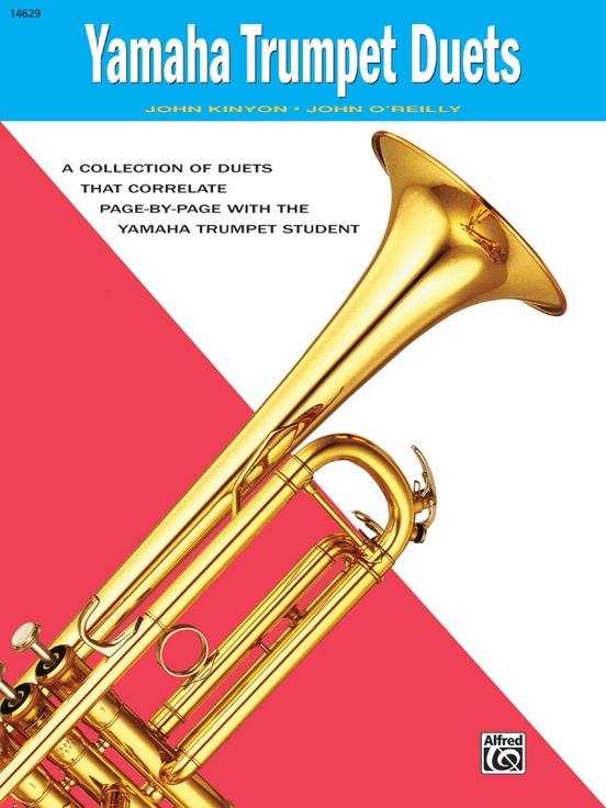 Yamaha trumpet duets trumpet book john kinyon fandeluxe Image collections