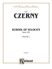 School of Velocity, Opus 299, Volume I