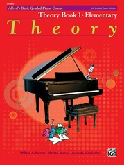 Alfred's Basic Graded Piano Course, Theory Book 1