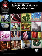 Easy Instrumental Solos for Special Occasions & Celebrations