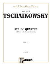 String Quartet in D Major with Andante Cantabile, Opus 11