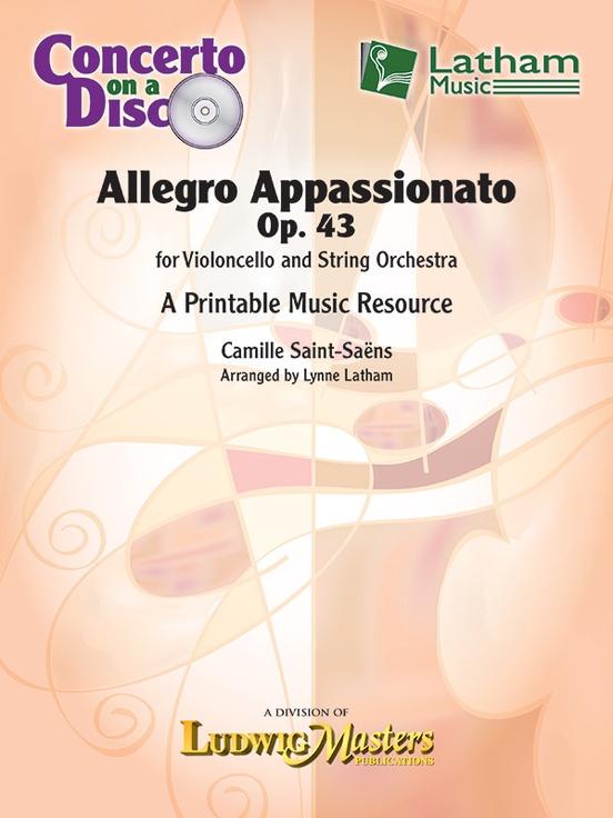 Allegro Appassionato, Op. 43 for Violoncello and String Orchestra