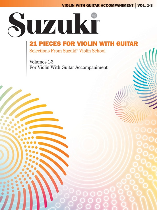 21 Pieces for Violin with Guitar: Violin Book